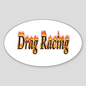 Drag Racing Flame Sticker