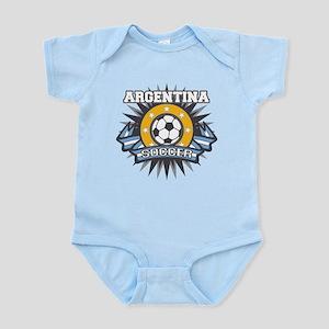 Argentina Soccer Ball Infant Bodysuit