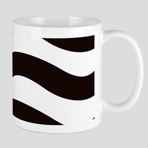 Black Strapy Waves Mugs