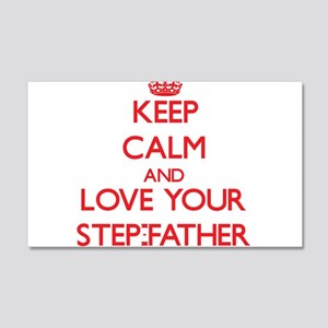 Keep Calm and Love your Step-Father Wall Decal