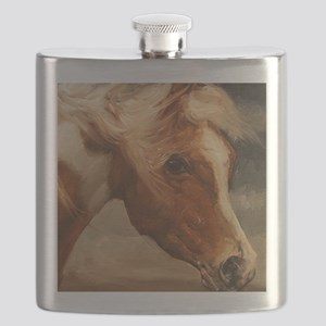 Assateague Pony Flask