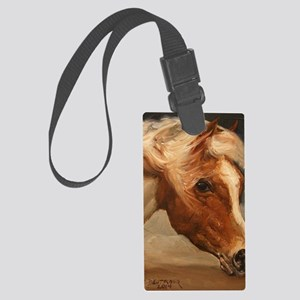 Assateague Pony Large Luggage Tag