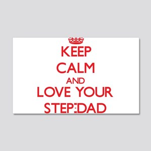 Keep Calm and Love your Step-Dad Wall Decal