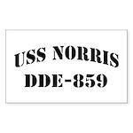 USS NORRIS Sticker (Rectangle)
