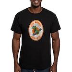 USS NORRIS Men's Fitted T-Shirt (dark)