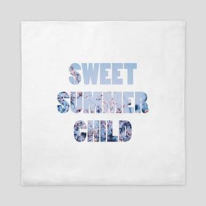 sweet summer child Queen Duvet