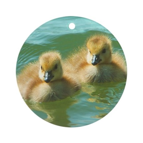 Baby Geese Ornament (Round)