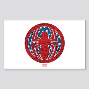 Stars, stripes, and spiders Sticker (Rectangle)