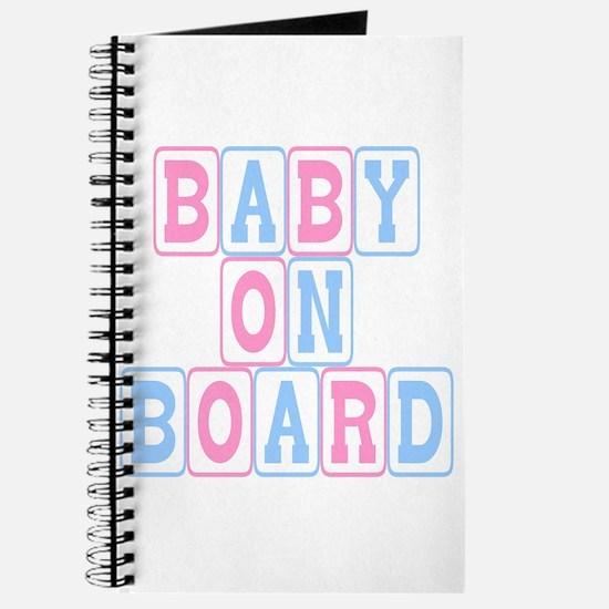 Baby On Board (blocks) Journal