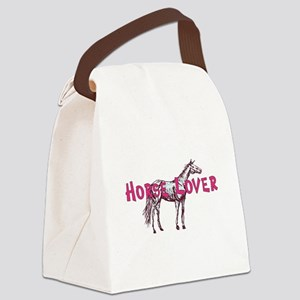 2-HorseLover1 Canvas Lunch Bag