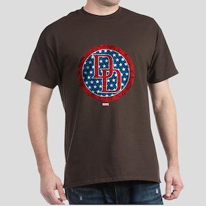 Stars and Stripes Daredevil Dark T-Shirt