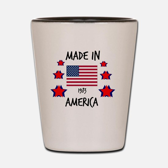 Made in 1983 Shot Glass