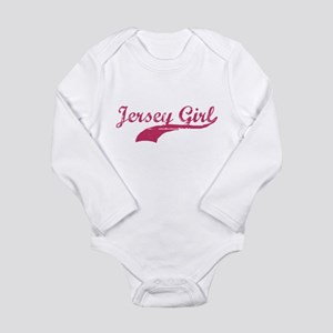 JERSEY GIRL T-SHIRT NEW JERSE Infant Bodysuit Body