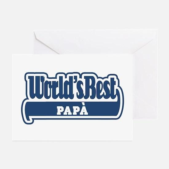 WB Dad [Italian] Greeting Cards (Pk of 10)
