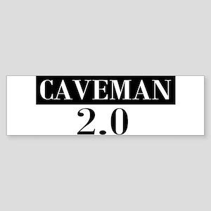 Caveman 2.0 Bumper Sticker