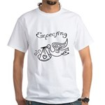 Expecting White T-Shirt