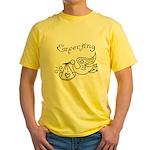 Expecting Yellow T-Shirt