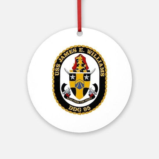 Uss James E. Williams Ddg-95 Ornament (round)