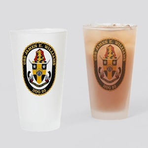 USS James E. Williams DDG-95 Drinking Glass