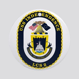 Uss Independence Lcs-2 Ornament (round)