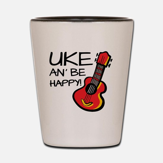 Ukulele Shot Glass