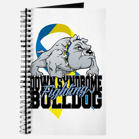 Down Syndrome Fighting Bulldog Journal
