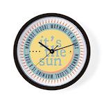 Its The Sun Wall Clock