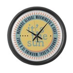 Its The Sun Large Wall Clock