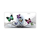 Butterfly License Plates