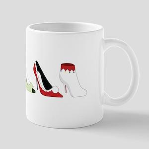 Christmas Shoes Mugs