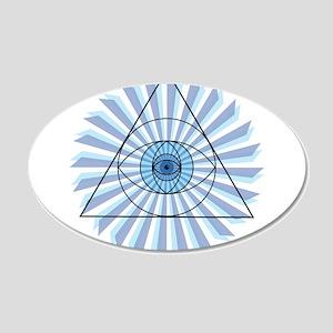 New 3rd Eye Shirt4 Wall Decal