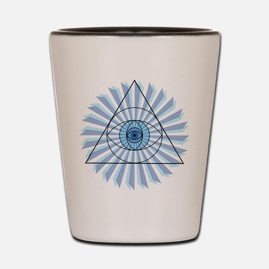 New 3rd Eye Shirt4 Shot Glass