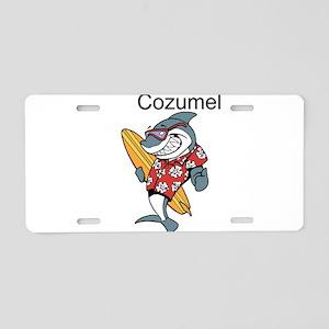 Cozumel, Mexico Aluminum License Plate