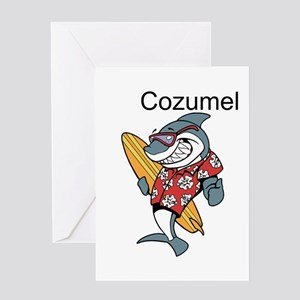 Cozumel, Mexico Greeting Cards