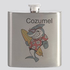 Cozumel, Mexico Flask