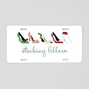 Stocking Fillers Aluminum License Plate