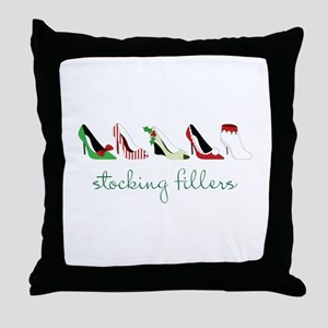 Stocking Fillers Throw Pillow