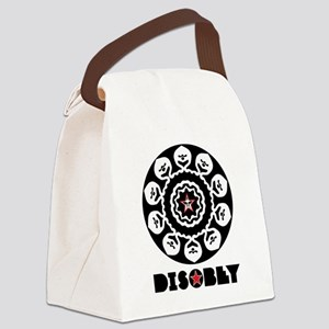DISOBEY7 Canvas Lunch Bag