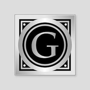 Deco Monogram G Sticker