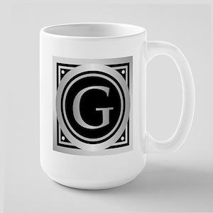 Deco Monogram G Mugs