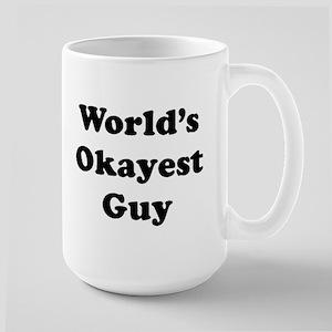 World's Okayest Guy Mugs