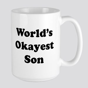 World's Okayest Son Mugs