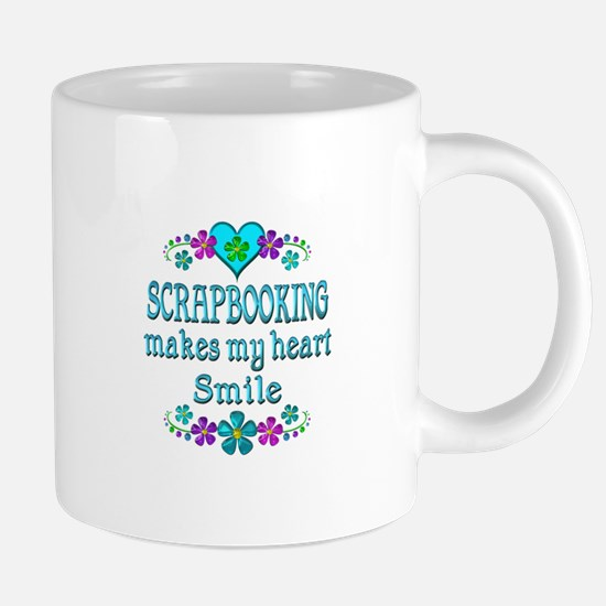 Scrapbooking Smiles Mugs
