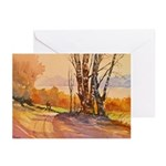 One October Morn Note Cards (Pk of 10)