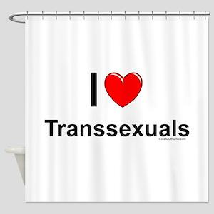 Transsexuals Shower Curtain