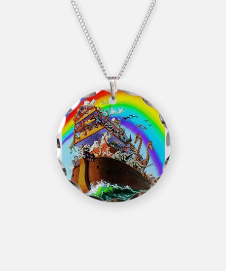 Noah's Ark drawing Necklace