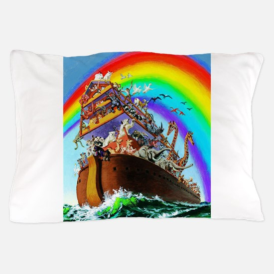 Noah's Ark drawing Pillow Case
