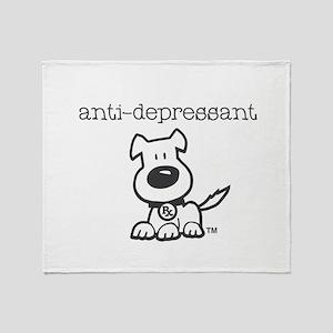 Anti Depressant Throw Blanket
