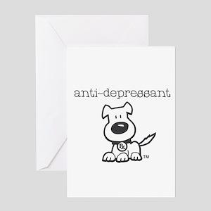 Anti Depressant Greeting Cards