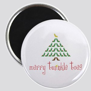Merry Twinkle Toes Magnets
